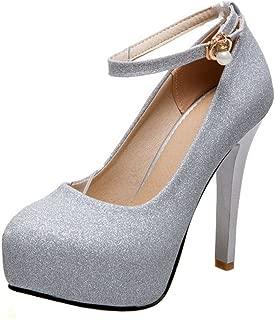 Femmes en cuir synthétique à Talon Compensé Lacet Mary Jane Escarpins Cour Chaussures Taille 3-8