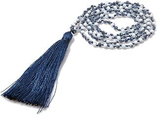 Best navy tassel necklace Reviews