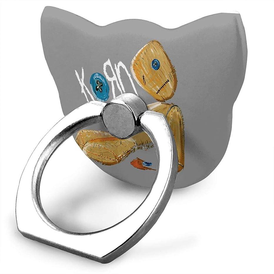 飛び込むモニカビートコーン Korn Issues ロゴ スマホ リング ホールドリング 指輪リング 薄型 おしゃれ スタンド機能 落下防止 360度回転 タブレット/スマホ\r\n IPhone/Android各種他対応