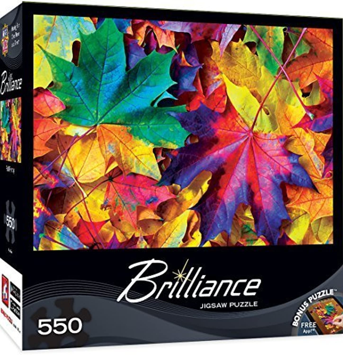 MasterPieces Brilliance Collection Fall Frenzy Puzzle (550 Piece) by MasterPieces