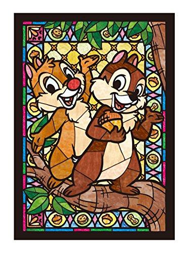 Vidrieras Art Disney 266 pieza Chip & Dale manchado DSG-266-749 firmemente (jap?n importaci?n)