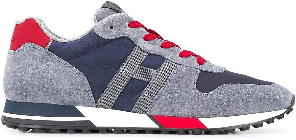 Hogan fashion  sneakers blu poliammide per  uomo HXM3830AN51N4X50CI