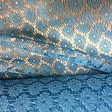 Floral Kleid & Craft Netz Stoff -112.5cm–45″ £