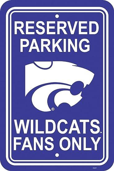 Fremont Die Indiana Hoosiers Plastic Parking Sign
