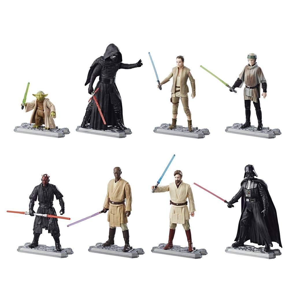 Pack 8 figuras 10 cm. Star Wars 2017 Era of the Force Exclusive , Hasbro: Amazon.es: Juguetes y juegos