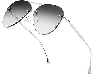 ProudDemon - Gafas de Sol Hombre Aviador UV400 Moda Protección Lentes de Sol