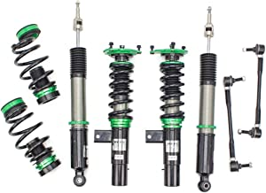 Rev9 R9-HS2-033_7 Hyper-Street II Coilover Suspension Lowering Kit, Mono-Tube Shock w/ 32 Click Rebound Setting, Full Length Adjustable
