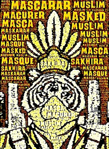 MASQUE MUSLIM AZWAD REFLECTIONZ: THE BOOK OF ZEE (English Edition)