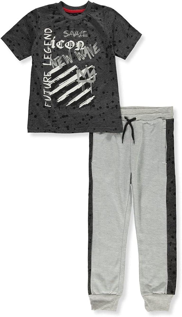 Prime Threads Boys' Legend 2-Piece Joggers Set Outfit