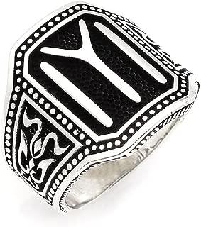 Ottoman Cool Kayı IYI Dirilis Ertugrul 925K Sterling Silver Men's Ring