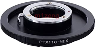 Lens Adapter - adapter ring for PTX110 110 P110 lens to E mount A7 A7s a7r2 a7m3 a9 a5000 A6000 a63000 nex6/7 camera