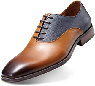 Men's Handmade Genuine Leather Shoes Retro British Style for Any Dress, Formal, or Party Occasions