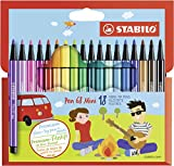 Premium-Filzstift - STABILO Pen 68 Mini - 18er Pack -