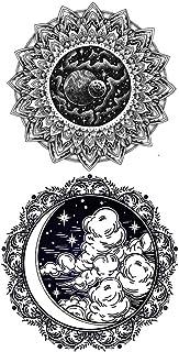 Tijdelijke Tatoeages 3 Vellen Tatoo Sticker Volledige Arm Tattoo Stickers, Semi Permanente Tattoo Stickers Arm Water Tatto...