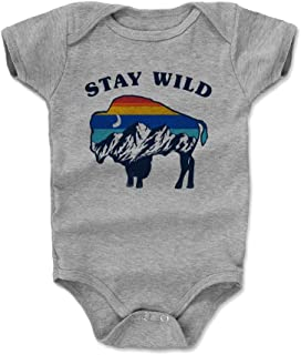 Nature Art Baby Clothes & Onesie (3-24 Months) - Stay Wild Buffalo