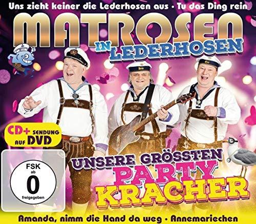 Unsere größten Partykracher CD + Sendung auf DVD