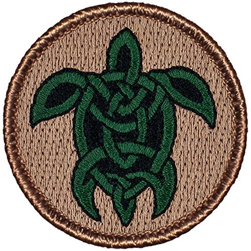 Celtic Turtle Patrol Patch - 2' Round!