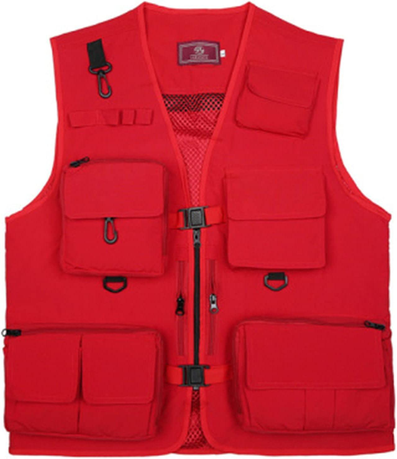 XIURAB Fishing Vest Quick-Drying Max 76% OFF shop Breatha Multifunctional