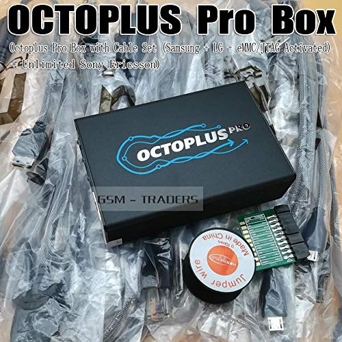 Lysee Communications Parts - Octoplus pro Box / OCTOPLUS BOX Activated for LG+Samsung+Medua JTAG Activation +SE Fuction (Packaged with 7 in 1 Cable/Adapter )