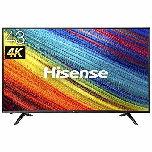 ハイセンス 43V型 液晶 テレビ HJ43N3000 4K 外付けHDD裏番組録画対応 メーカー3年保証 2017年モデル