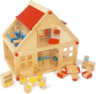 Small Foot Company 7253 - Pequeña casa de madera, 2 plantas
