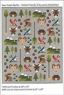 Sew Fresh Quilts Ptrn Forest Friends 2.0 Pattern