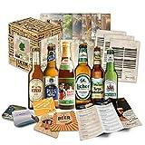Kleines Biergeschenk mit den besten deutschen Bieren - Geschenkidee für Freunde, Geschenkidee für...