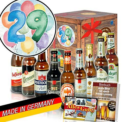 29. Geburtstagsgeschenk - Biergeschenke - Ostdeutsches Bier