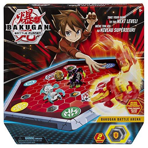 Bizak Battle Arena Officiële Stadion voor de spaarpot Inclusief Bakugan Exclusive kleurrijk, (61924431