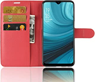 LIQING Oppo A7 Case/Oppo AX7 Case Oppo A7/Oppo AX7 Cell Phone Protective Cover with Bank Card Slots & Wallet Pocket Flip Cell Phone Wallet Case with Adjustable Stand for Oppo A7/Oppo AX7 Phone