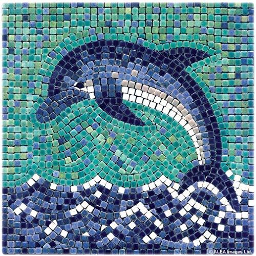 ALEA Mosaic - Kit de Mosaico, Tema Delfín, 20 x 20 cm (204004)