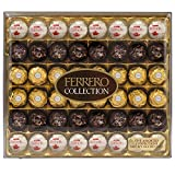 Ferrero Rocher Fine Hazelnut Milk Chocolate and Coconut Candies, 48 Count, Assorted Chocolate Candy Collection Gift Box
