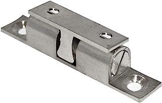 1 paio di spondina cassetto con autorientro lunghezza complessiva 500 metallo argento montaggio a sormonto guida per cassetto portata 25 kg guida a estrazione totale guida estrazione per cassetto