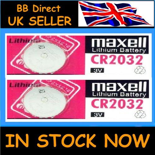 MAXELL - 2 pilas CR2032, 3 V, litio