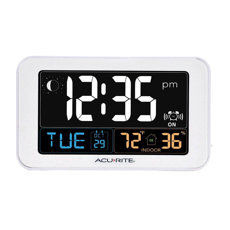 AcuRite Intelli Time Temperature Humidity 13040CA