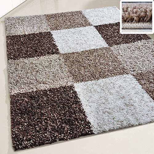 Shaggy rugs Fluffy Rug Square De...