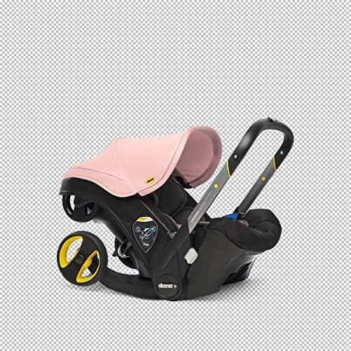 Doona+ 0+ Kindersitz - Von Autositz zum Buggy in Sekundenschnelle [0-15 Monate] (Blush Pink/rosé)