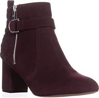 Marc Fisher Weity Ankle Boots, Dark Red