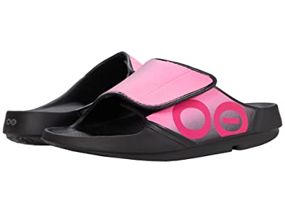 OOFOS OOahh Sport Flex (Pink) Shoes