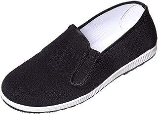 DoGeek Kung Fu Shoes Martial Arts Shoes Tai Chi Shoes Peking Shoes for Men/Women Old Beijing Shoes - Rubber Sole(39-45)