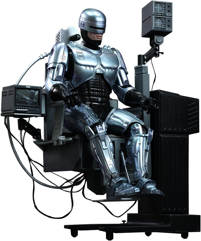 Movie Masterpiece DIECAST Robocop [mit Dockingstation] Mastab 1 6 Druckguss lackiert Action-Figur (3-Sendungen um)