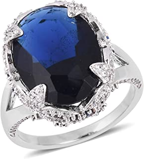 Shop LC Delivering Joy Cocktail Ring Tanzanite Garnet Jewelry for Women Gift Size 9 Ct 7.8
