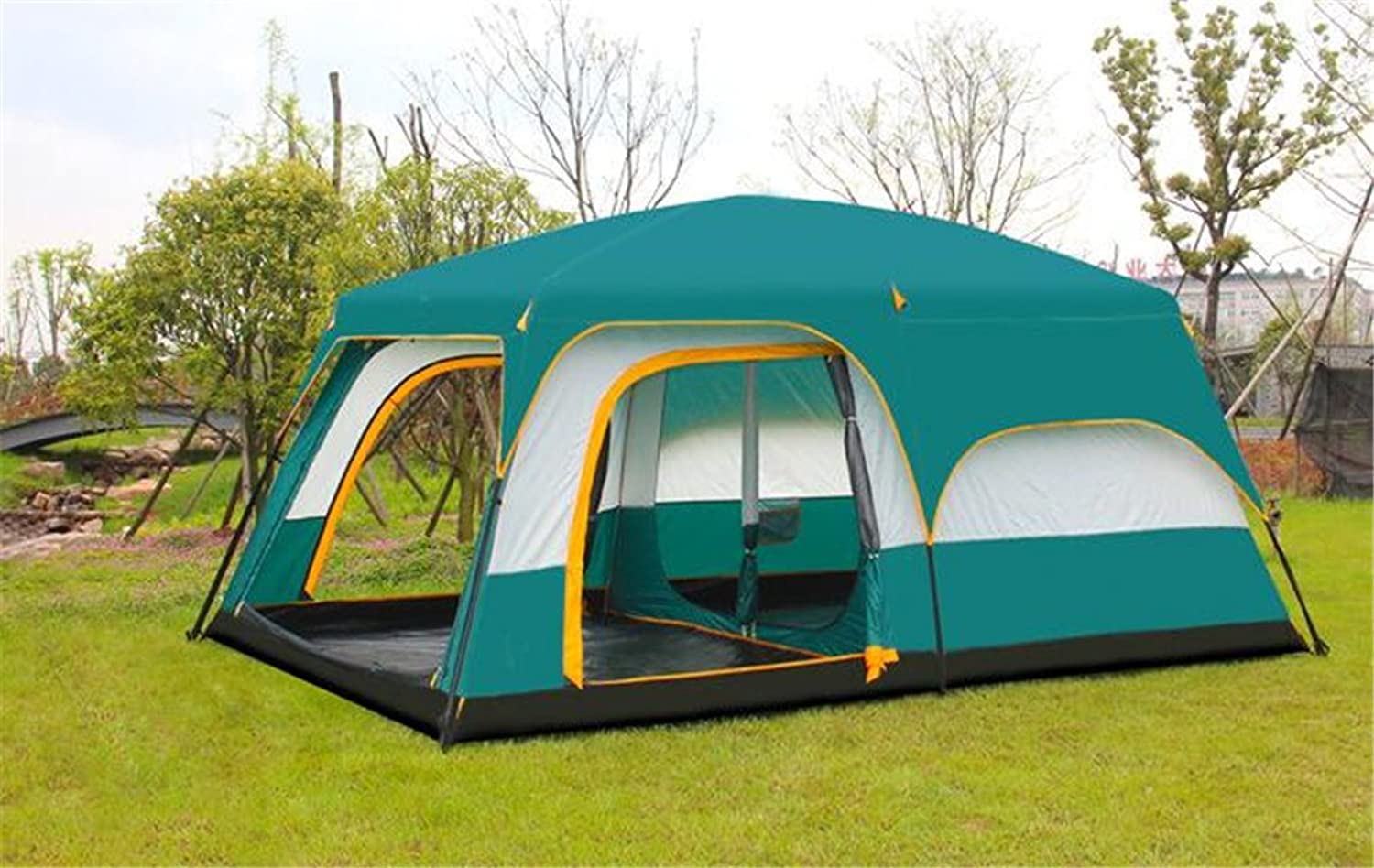TTYY Super Large Tent 1012 People Outdoor Camping Travel Spring Tour Picnic Adventure