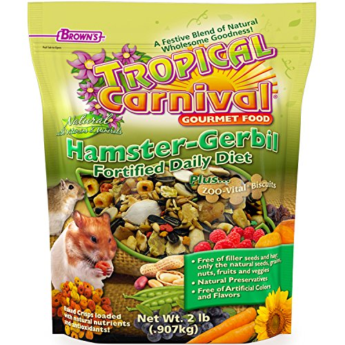 F.M. Brown's Tropical Carnival Natural Hamster-Gerbil Food
