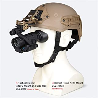 Image of MXXQQ Night Vision Monocular Telescope, HD Digital Infrared Camera for Day and Night, 200M/656Ft Viewing Range,with 850Nm Illuminator, for Hunting Security Surveillance