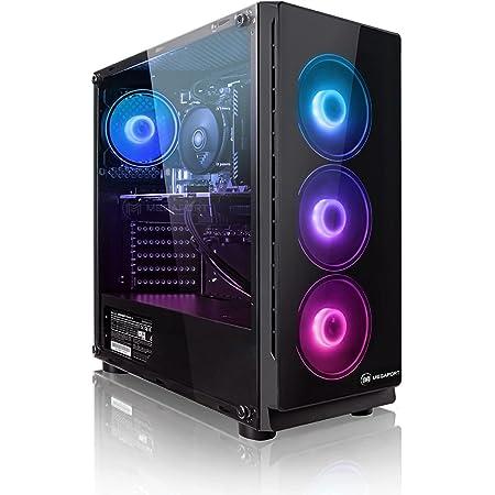 PC Gaming - Megaport Ordenador Gaming PC AMD Ryzen 7 2700X • GeForce RTX3070 8GB • 1000GB HDD • 480GB SSD • 16GB DDR4 3000 • WLAN • Windows 10 • PC Gamer • Ordenador de sobremesa