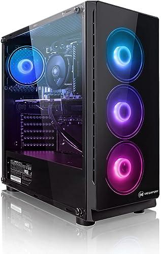 Megaport PC Gamer Platin AMD Ryzen 5 3600 6X 3,60 GHz • GeForce GTX1660 Super 6Go • Windows 10 • 16Go DDR4 • 240Go SS...