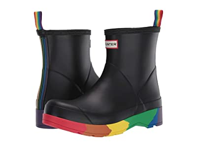 Hunter Play Pride Boot Short (Black) Men