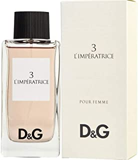 Dolce and Gabbana 3 L'Imperatrice Eau de Toilette for Women, 100 ml