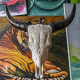 sugar skull carving